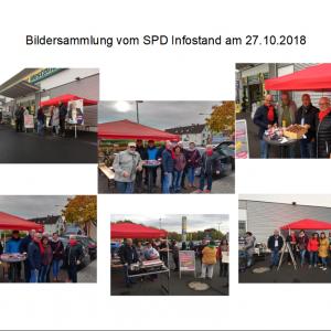 SPD-Infostände Hainstadt und Kleinkrotzenburg