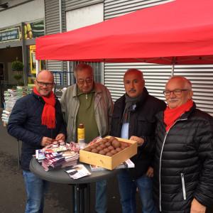 SPD-Infostand Kleinkrotzenburg