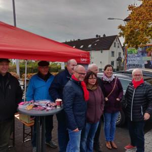SPD-Infostand Hainstadt